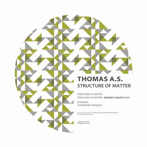 Thomas A.S. - Structure of Matter [BM093]