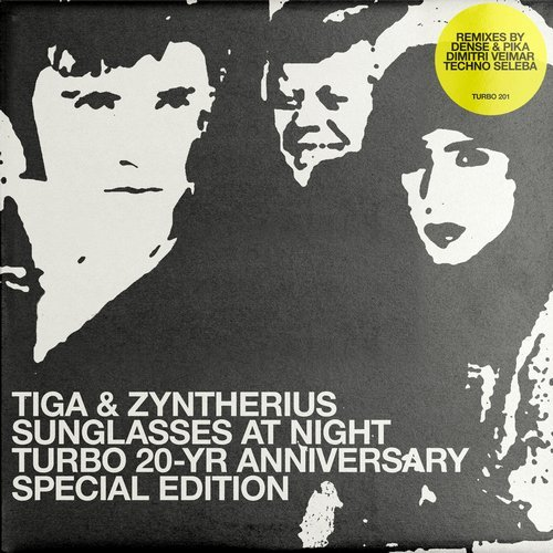 Tiga, Zyntherius - Turbo20Year RMX Sunglasses At Night [TURBO201]