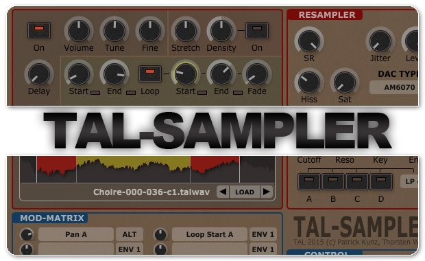 Togu Audio Line TAL-Sampler v1.5.3 Update WiN/OSX Incl.Keygen-R2R