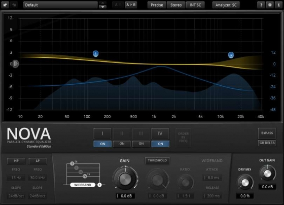 Tokyo Dawn Labs Releases TDR Nova Dynamic Equalizer WiN/MAC