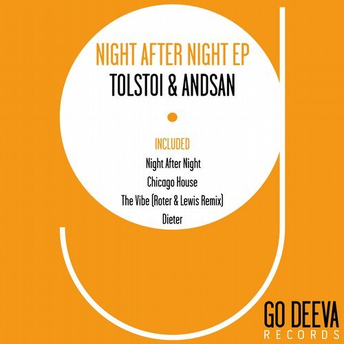 Tolstoi, Andsan – Night After Night Ep [GDV1633]