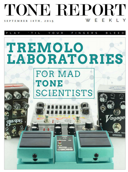 Tone Report Weekly Issue 93 (September 18, 2015)