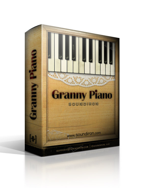 Tonehammer Old Busted Granny Piano KONTAKT DVDR-DYNAMiCS
