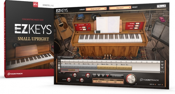 Toontrack EZkeys Small Upright v1.0.0 Incl Keygen WiN/OSX-R2R
