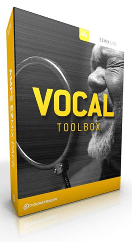 Toontrack vocal toolbox ezmix pack for Classic house vocals acapella