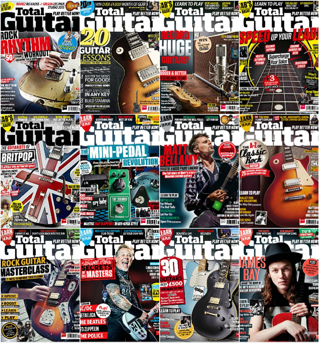 Total Guitar Full Year 2015 Collection