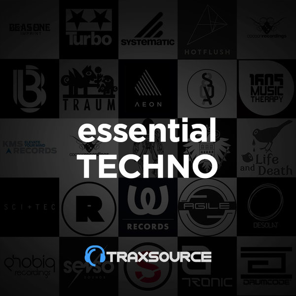 Traxsource Essential Techno (05 Aug 2019)