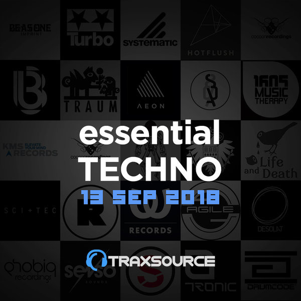 Traxsource Essential Techno (13 Sep 2018)