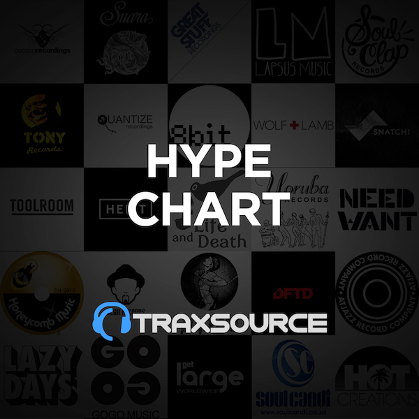 Traxsource Hype Chart (02 Sep 2019)