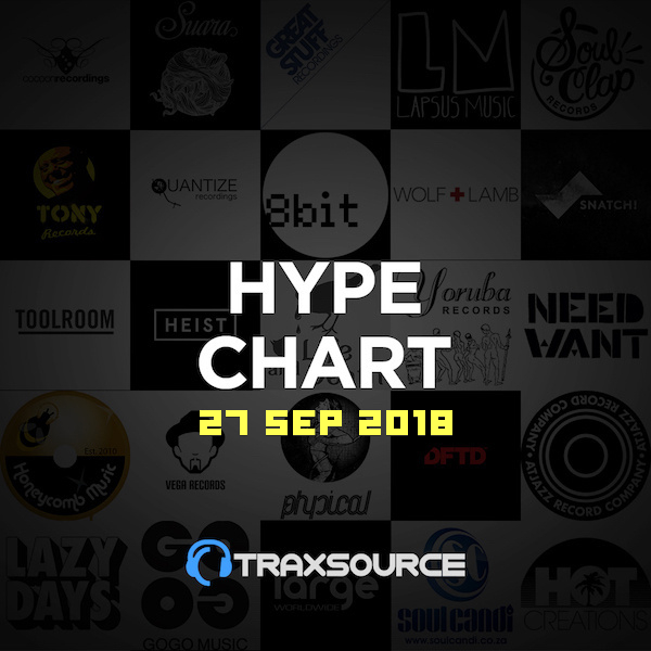 Traxsource Essential Techno (29 Sep 2018)
