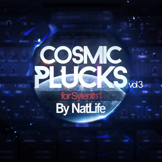 True Trance Recordings Cosmic Plucks Vol 3 For SYLENTH1