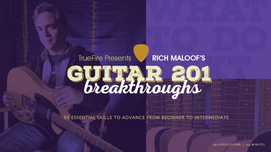TrueFire Guitar 201 Breakthroughs TUTORiAL