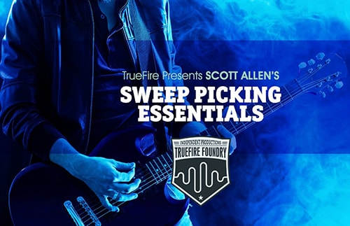 Truefire Foundry Sweep Picking Essentials