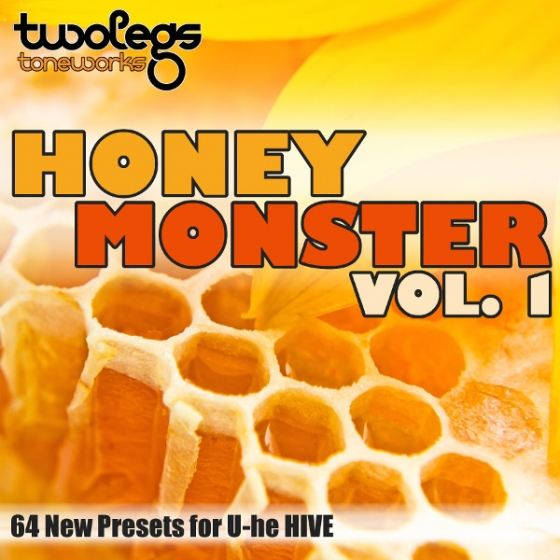 Twolegs Toneworks Honey Monster Vol 1 For U-HE HiVE