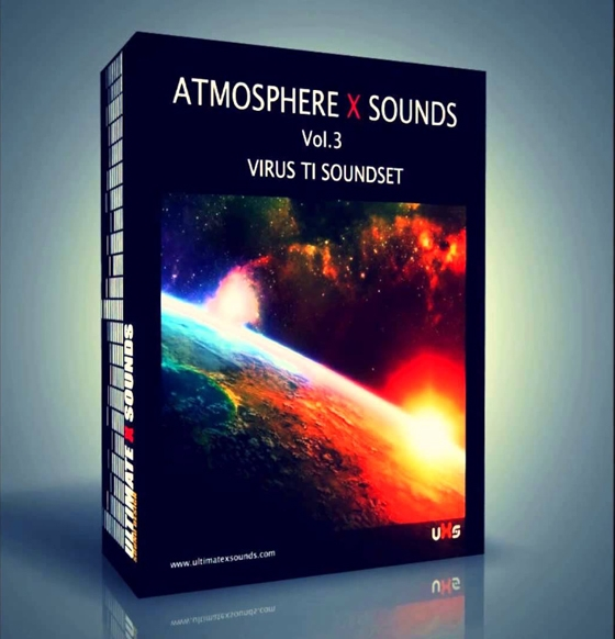 Ultimate X Sounds - Atmosphere X Sounds Vol. 3 for Virus TI