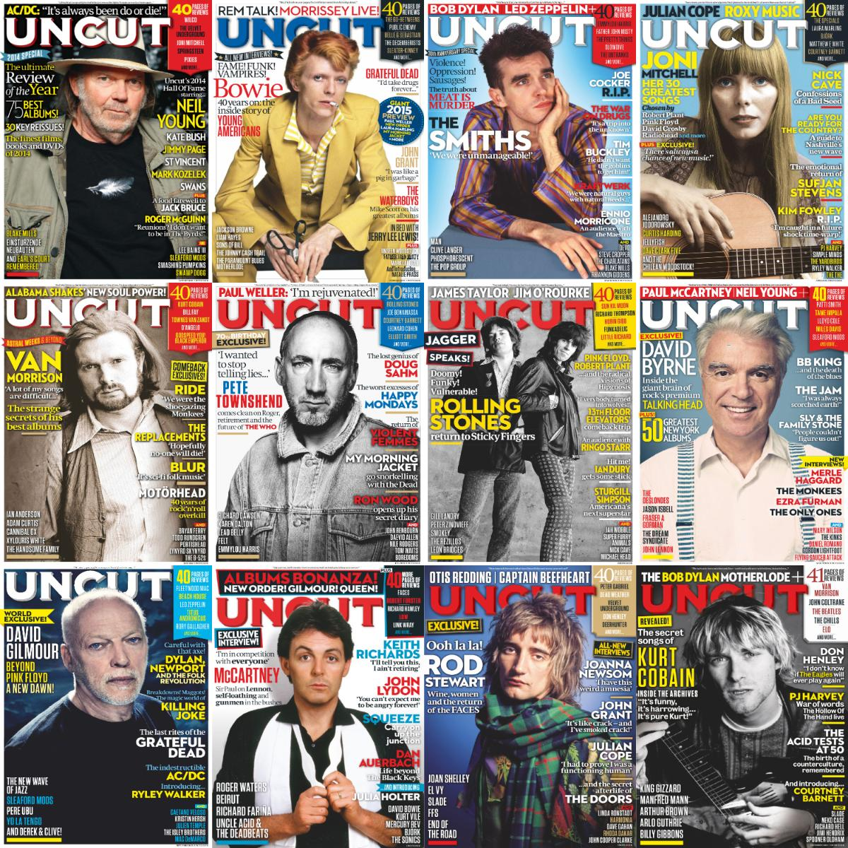 Uncut 2015 Full Year Issues Collection