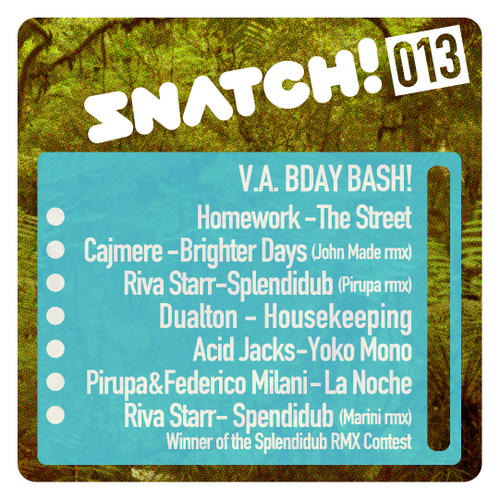 VA - V.A. BDay Bash! [SNATCH013]