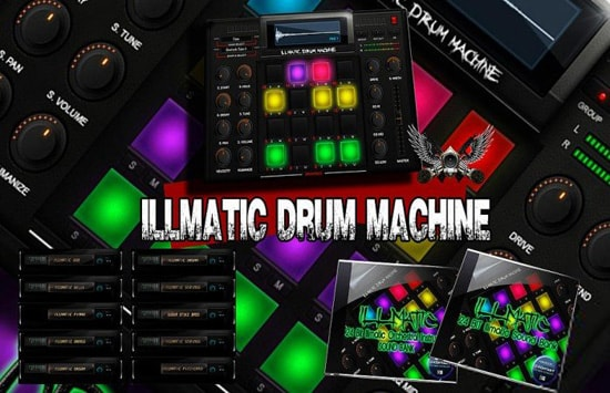 VIP Soundlabs Illmatic Drum Machine KONTAKT