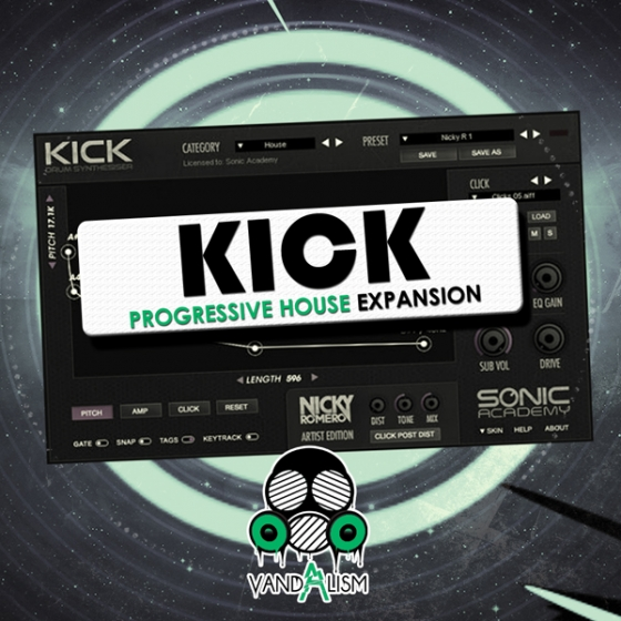 Vandalism Kick Progressive House Expansion For SONiC ACADEMY KICK