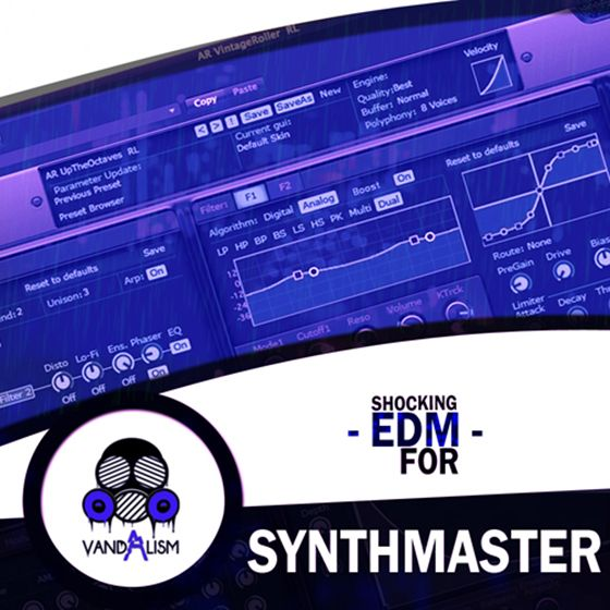 Vandalism Shocking EDM For KV331 AUDiO SYNTHMASTER