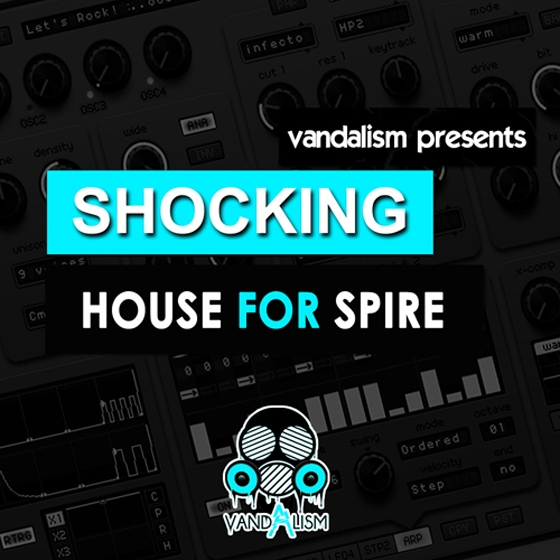 Vandalism Shocking House For REVEAL SOUND SPiRE