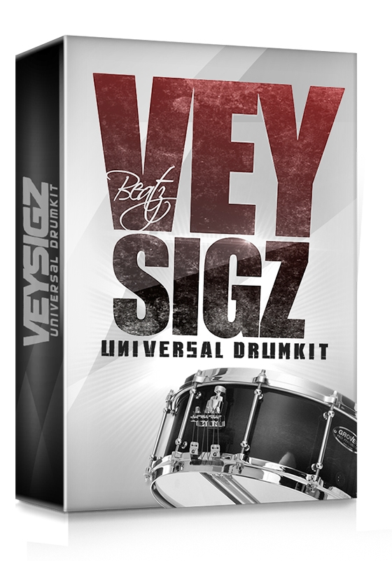 Veysigz Universal Drum Kit Vol. 1 WAV