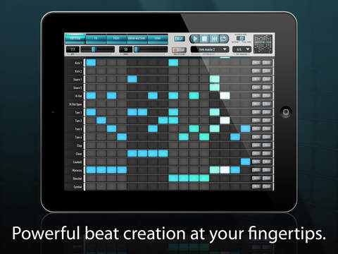 Vibrant Digital Engineering Diode-108 Drum Machine v1.3.4 iPad