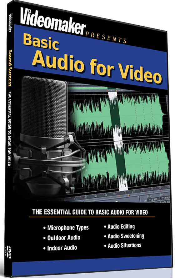 Videomaker Basic Audio for Video TUTORiAL