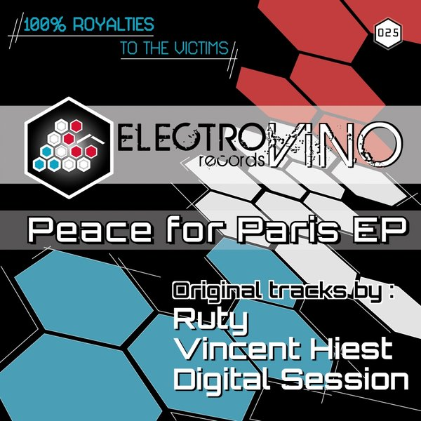 Vincent Hiest,Digital Session - Peace For Paris [EVR 25]