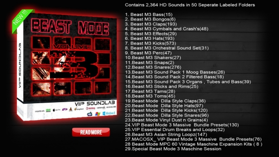 Vip Soundlab Beast Mode 3 WAV