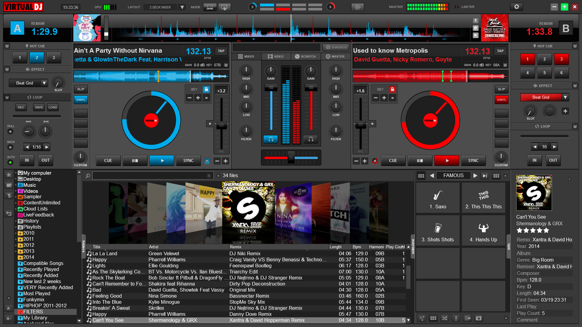 Virtual DJ Pro 8.0.2465 Multilingual with Content + Portable