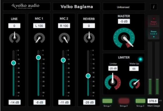 Volko Audio Volko Baglama v2.0 WiN/MAC-UNION