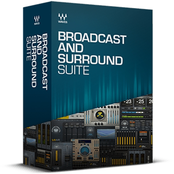 Waves Broadcast and Surround Suite MacOSX-Offset