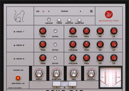 Wavesfactory Echo Cat v1.0.0 WiN