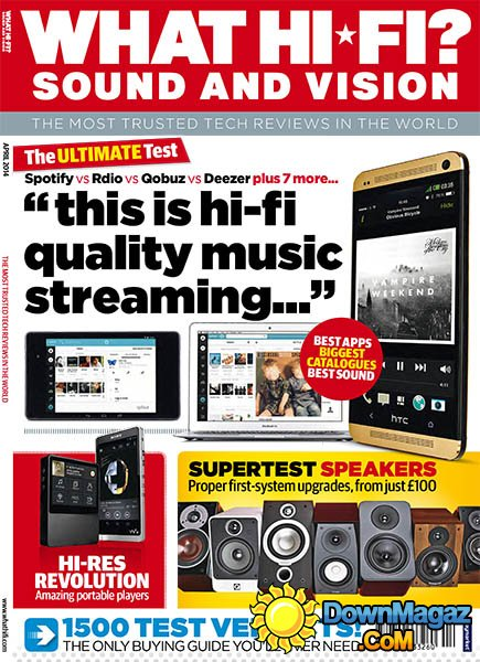 What Hi-Fi Sound And Vision UK April 2014
