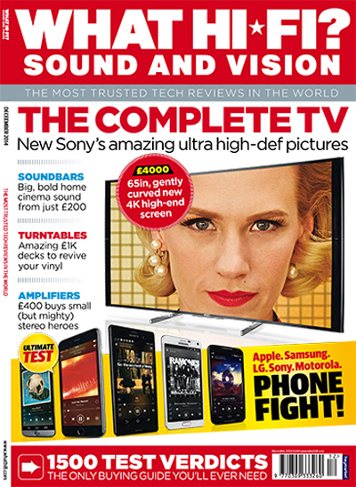 What Hi-Fi Sound And Vision UK December 2014