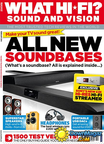 What Hi-Fi Sound And Vision UK Februar 2014