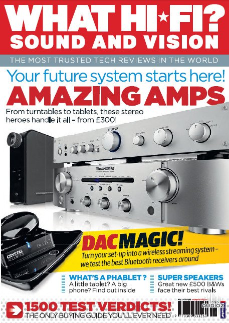 What Hi-Fi Sound And Vision UK May 2014