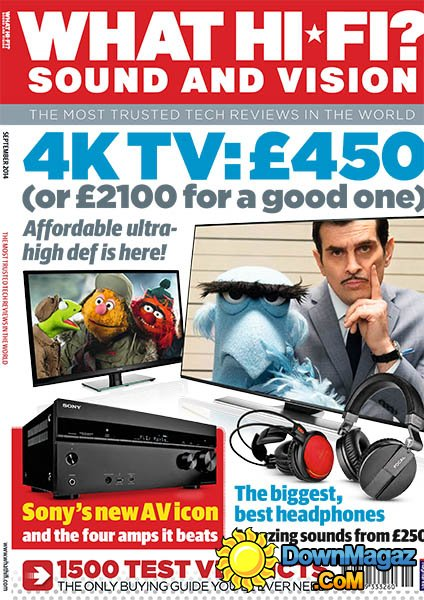 What Hi-Fi Sound And Vision UK September 2014