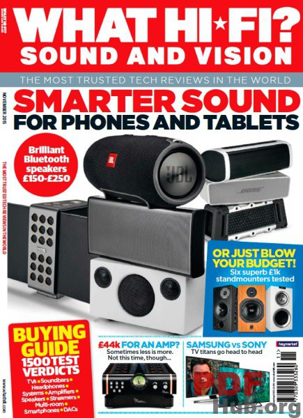 What Hi-Fi Sound and Vision UK November 2015