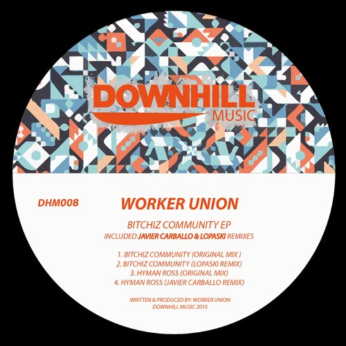 Worker Union – Bitchiz Community EP [DHM008]