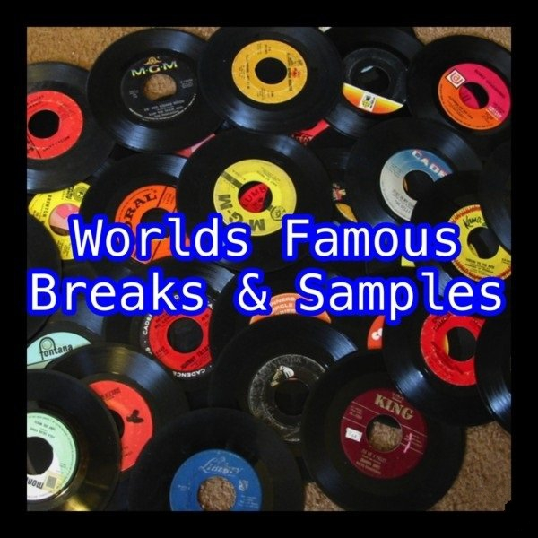 Worlds Famous Vinyl Breaks and Samples WAV-Quakeaudio