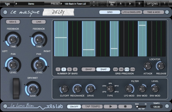 XILS-lab Le Masque Delay v1.5.1.CE