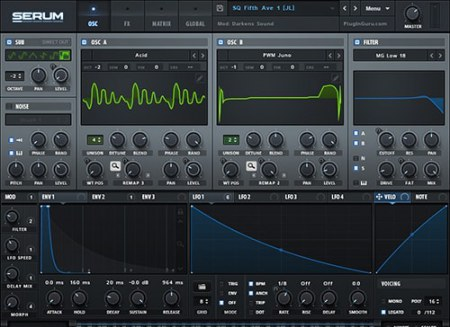 Xfer Records Serum v1.2.7b1 / v1.21b5 Patched WiN MacOSX