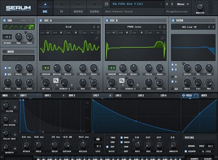 Xfer Records Serum v1.2.7b2 / v1.21b5 Patched WiN MacOSX