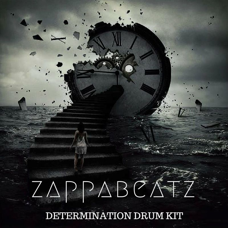 Zappabeatz Determination Drum Kit WAV