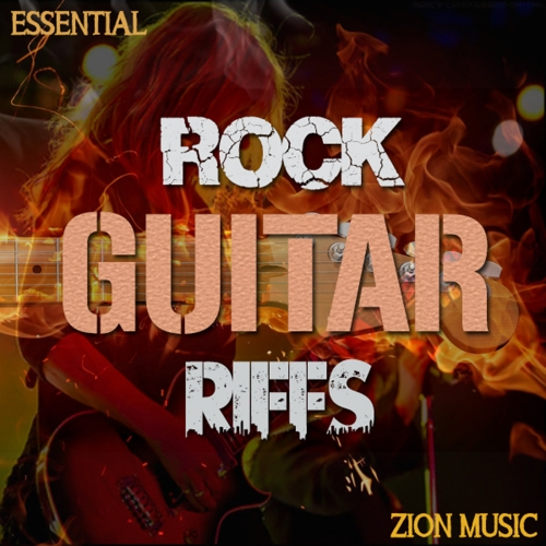 Zion Music Essential Electric Rock Guitar Riffs WAV