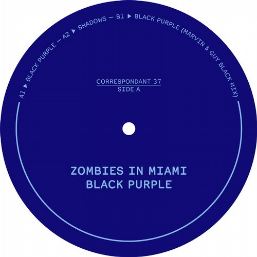 Zombies In Miami - Black Purple [CORRESPONDANT37]