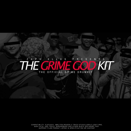 Zxph Xllxs Presents The Grime God Kit WAV SF2