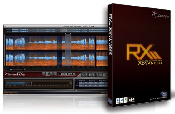 iZotope RX Advanced 5.00 WiN/MAC